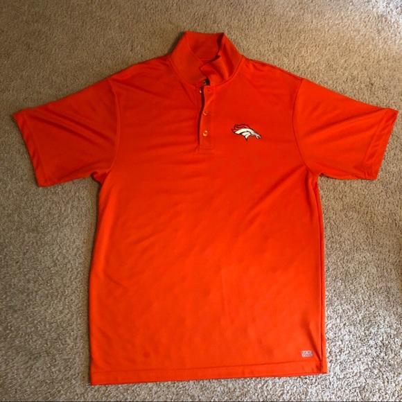 cf887ac5c Men s denver broncos nfl polo shirt orange large